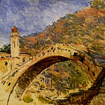 Claude Oscar Monet - Dolceacqua, Bridge
