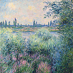 Spot on the Banks of the Seine, Claude Oscar Monet