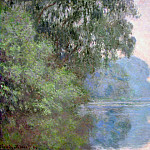 Morning on the Seine near Giverny, Claude Oscar Monet