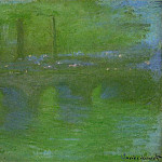 Waterloo Bridge, Dawn, Claude Oscar Monet