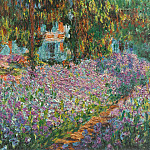 Claude Oscar Monet - Irises in Monet's Garden 03