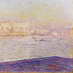 Claude Oscar Monet - The Doges' Palace Seen from San Giorgio Maggiore 4