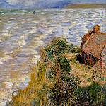 Rising Tide at Pourville, Claude Oscar Monet