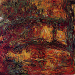 The Japanese Bridge at Giverny, Claude Oscar Monet