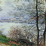The Banks of the Seine, Ile de la Grande-Jatte, Клод Оскар Моне