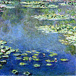 Water Lilies, Claude Oscar Monet