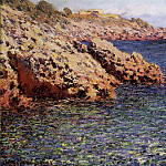 Rocks on the Mediterranean Coast, Клод Оскар Моне