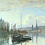 View of Rouen, Claude Oscar Monet