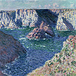 Rocks at Belle-Ile, Claude Oscar Monet