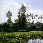 View At Rouelles Le Havre, Claude Oscar Monet