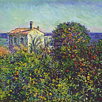 Claude Oscar Monet - Bordighera, the House of Gardener