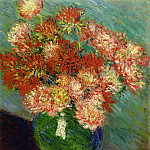 Vase of Chrysanthemums, Клод Оскар Моне