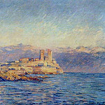 Клод Оскар Моне - The Castle in Antibes
