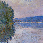 The Seine at Port-Villez, Claude Oscar Monet