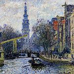 Canal in Amsterdam, Claude Oscar Monet