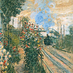 Arriving at Montegeron, Claude Oscar Monet