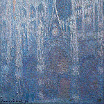 Rouen Cathedral, Clear Day, Claude Oscar Monet