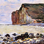Cliffs of Les Petites-Dalles, Claude Oscar Monet
