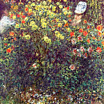 Girls in the Garden, Claude Oscar Monet