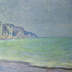 Cliff at Pourville 2, Claude Oscar Monet