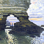 Claude Oscar Monet - La Porte d`Amount Etretat