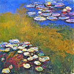 Claude Oscar Monet - Water Lilies, 1914-17 04