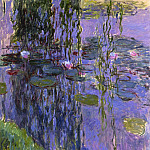 Water Lilies, 1916-19 05, Claude Oscar Monet