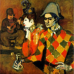 1904 Au Lapin Agile , Pablo Picasso (1881-1973) Period of creation: 1889-1907