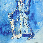 Pablo Picasso (1881-1973) Period of creation: 1889-1907 - 1903 Laveugle et sa famille