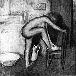 Pablo Picasso (1881-1973) Period of creation: 1889-1907 - 1901 La toilette