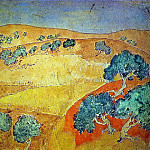 Pablo Picasso (1881-1973) Period of creation: 1889-1907 - 1902 Barcelone, paysage dВtВ