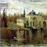 1897 Pavillon dans le Parc del Retiro, Pablo Picasso (1881-1973) Period of creation: 1889-1907