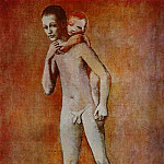 1905 Deux frКres, Pablo Picasso (1881-1973) Period of creation: 1889-1907