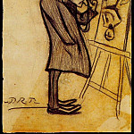Pablo Picasso (1881-1973) Period of creation: 1889-1907 - 1899 Le sage