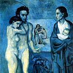 1903 La vie, Pablo Picasso (1881-1973) Period of creation: 1889-1907