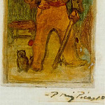 1899 El Zurdo, Pablo Picasso (1881-1973) Period of creation: 1889-1907