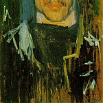 1901 Autoportrait - Yo, Pablo Picasso (1881-1973) Period of creation: 1889-1907