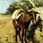 1898 mulet, Pablo Picasso (1881-1973) Period of creation: 1889-1907