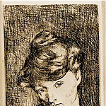 1905 TИte de femme, Pablo Picasso (1881-1973) Period of creation: 1889-1907
