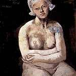 Pablo Picasso (1881-1973) Period of creation: 1889-1907 - 1905 La belle Hollandaise. JPG