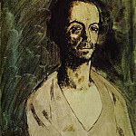 Pablo Picasso (1881-1973) Period of creation: 1889-1907 - 1904 Le sculpteur catalan Manolo (Manuel HuguВ)