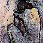 Pablo Picasso (1881-1973) Period of creation: 1889-1907 - 1901 Nue bleue