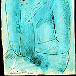 Pablo Picasso (1881-1973) Period of creation: 1889-1907 - 1901 Рtude pour La buveuse dabsinthe