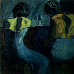 1902 Pierreuses au bar, Pablo Picasso (1881-1973) Period of creation: 1889-1907