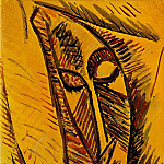 1907 Nu Е la draperie [Рtude], Pablo Picasso (1881-1973) Period of creation: 1889-1907