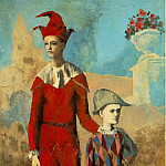 Pablo Picasso (1881-1973) Period of creation: 1889-1907 - 1905 Acrobate et jeune arlequin2