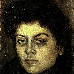 1901 Portrait de Lola Ruiz Picasso, Pablo Picasso (1881-1973) Period of creation: 1889-1907
