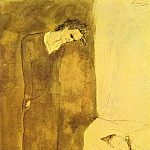 1904 Nu dormant, Pablo Picasso (1881-1973) Period of creation: 1889-1907