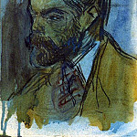 1900 Portrait de Joaquim Mir, Pablo Picasso (1881-1973) Period of creation: 1889-1907