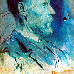 1896 Portrait du pКre de lartiste2, Pablo Picasso (1881-1973) Period of creation: 1889-1907